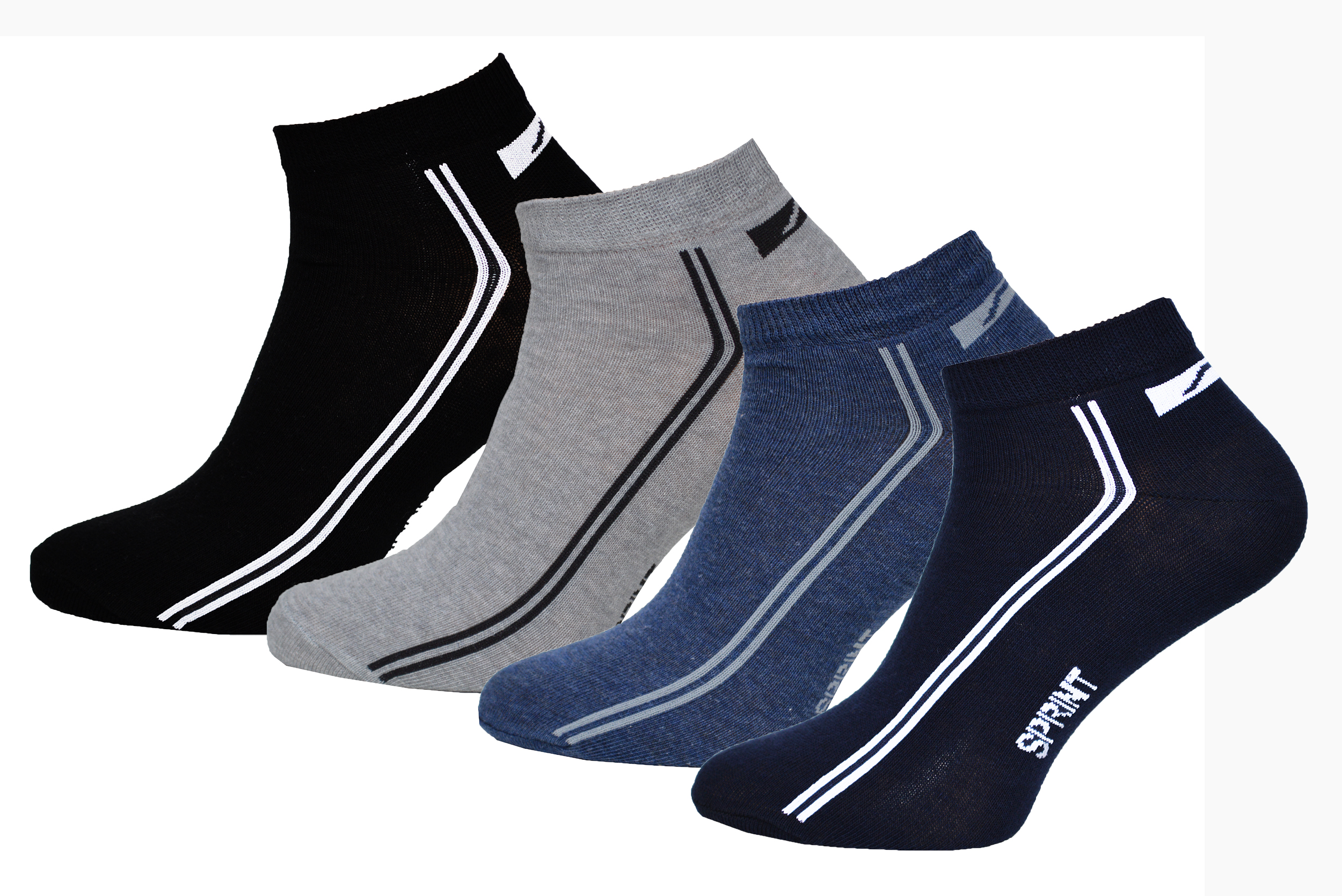 8 paar herren sneaker sprint socken mit komfortbund sommersocken sneakers ms 5072. Black Bedroom Furniture Sets. Home Design Ideas